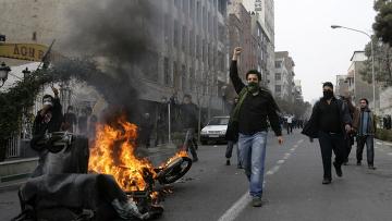 Столкновения в Иране