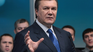 Виктор Янукович на съезде Союза молодежи регионов Украины