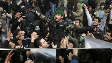 Волнения оппозиции в Иране