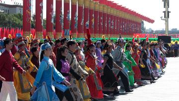 Празднование 60-летия КНР в Пекине