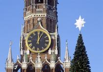 Спасская башня и Новогодняя елка