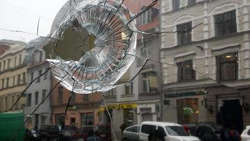 Последствия беспорядков в столице Латвии
