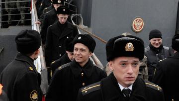 Возвращение отряда кораблей ТОФ из Аденского залива