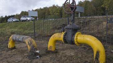 Магистральный газопровод на 32-м километре Новорижского шоссе