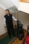 Дома у Виктора Януковича