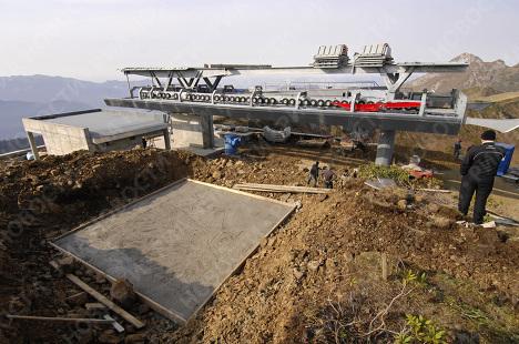 Строительство олимпийских объектов в Сочи
