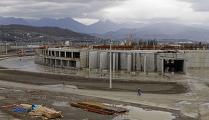 Строительство большой ледовой арены