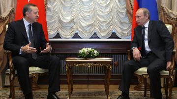 Встреча премьер-министров России и Турции в Москве