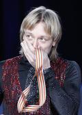 Лидер сборной России по фигурному катанию Евгений Плющенко стал шестикратным чемпионом Европы, выиграв первенство континента в Таллине.