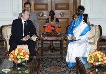 Рабочий визит Владимира Путина в Республику Индия