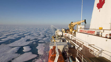 канада арктика северный ледовитый океан