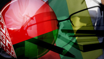 Белорусские журналисты в Литве