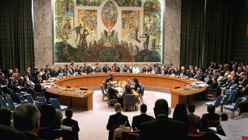 ЗАСЕДАНИЕ СОВЕТ БЕЗОПАСНОСТИ ООН