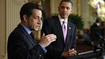 Визит Саркози в США