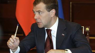 Д.Медведев встретился с лидерами думских фракций