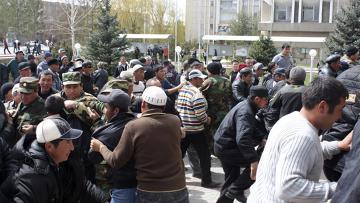 протест киргизской оппозиции