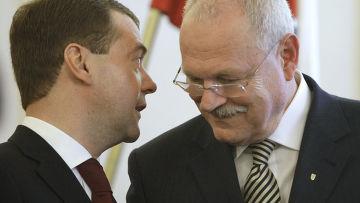 Визит Д.Медведева в Словацкую Республику. День второй