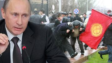 Путин протесты в Киргизии