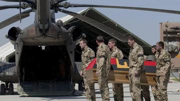 Уже 39 немецких солдат погибли в Афганистане