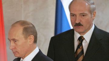 В.Путин А.Лукашенко