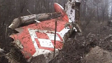 Самолет президента Польши потерпел крушение под Смоленском