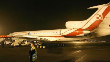 Самолет президента польши Леха Качиньского