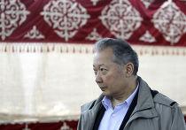 Отстраненный от власти президент Киргизии Курманбек Бакиев