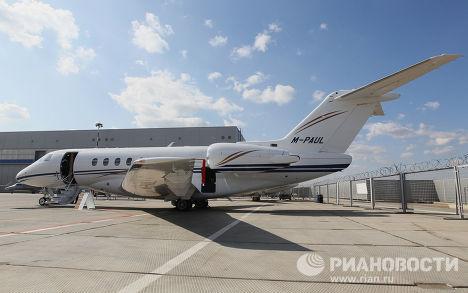 Новый самолет Hawker 4000