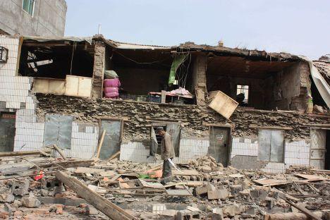Землетрясение на северо-западе Китая