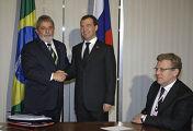 Визит президента РФ Д.Медведева в Бразилию