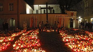 Краков готовится к похоронам президента Польши