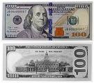 Презентация новой стодолларовой купюры