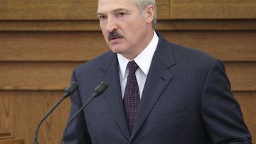 Выступление президента Белоруссии Александра Лукашенко