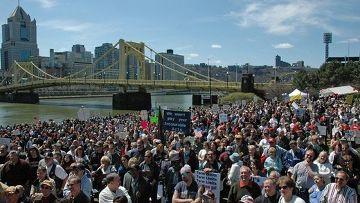 Протесты движения Tea Party в США