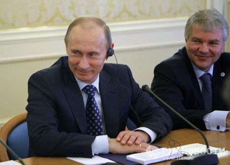 Визит Владимира Путина в Италию
