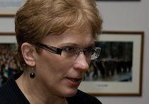избранная от Латвии европарламентарий Сандра Калниете