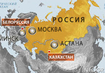 Таможенный союз карта