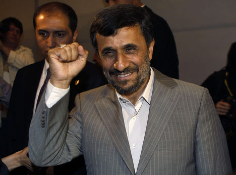 Президент Ирана Махмуд Ахмадинежад на саммите СВМДА