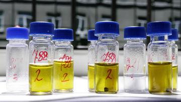Химические пробы наркотического вещества