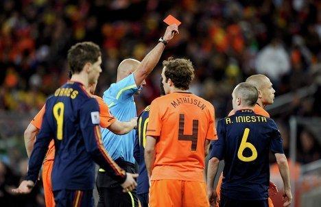 Финальный матч чемпионата мира-2010 Нидерланды - Испания