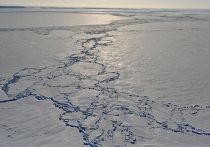 Льдины в Северном Ледовитом океане