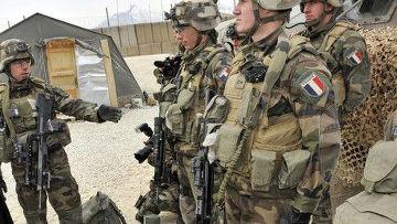 Французские солдаты в Афганистане