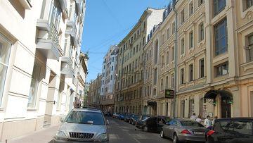 Малый Козихинский переулок в Москве