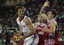 Баскетбол. ЧМ 2010. Мужчины. Матч Турция - Россия