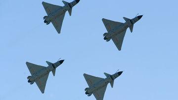 Китайские истребители J-10