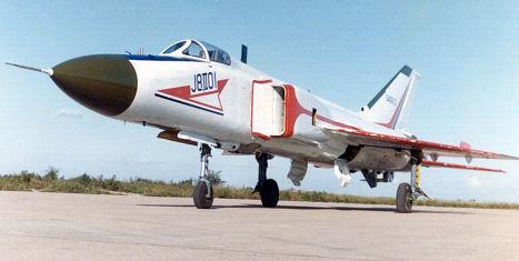 китайский истребитель J-8