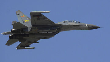 китайский истребитель j-11