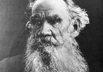 Писатель Лев Толстой