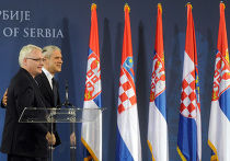 визит президента Тадича в Хорватию