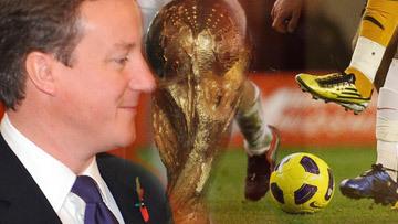 Дэвид Кэмерон намерен лично поддержать заявку Англии на проведение ЧМ по футболу